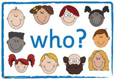 Teachers Pet - Question Posters W...? - FREE Classroom Display Resource - EYFS, KS1, KS2, who, what, where, when, why, how, questions