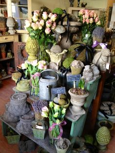 Pretty in pink - ready for Valentines Day ! The Potting Shed
