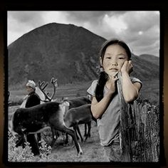 girl, Mongolia, Phil Borges