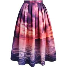 Chicwish Purple Horizon Midi Skirt (1.200 UYU) ❤ liked on Polyvore featuring skirts, purple, calf length skirts, purple midi skirt, purple skirt, slip skirt and party skirts