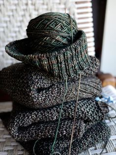 Anne Hanson - Well she knits and designs exceptional patterns! Enough said!
