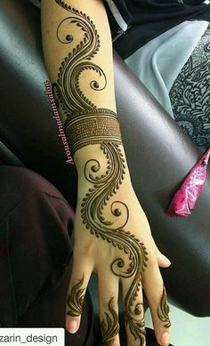 mehndi design Minus the arm band. Mehndi Designs Book, Indian Mehndi Designs, Mehndi Designs 2018, Mehndi Designs For Beginners, Modern Mehndi Designs, Mehndi Designs For Girls, Mehndi Design Pictures, Wedding Mehndi Designs, Mehndi Designs For Fingers