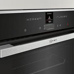 700 pounds John Lewis, Neff B47CR32N1B Slide and Hide EcoClean Single Electric Oven, Stainless Steel Online at johnlewis.com