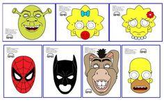 Maestra de Infantil: Antifaces de carnaval para imprimir