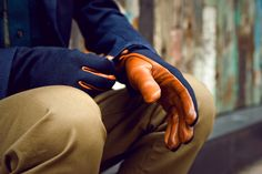No... I just can't get these out of my head... can anyone help me and give me a pair? :P  #menswear #style #gloves