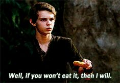 My life!  (You can decide whether im referring to food, Robbie Kay as Peter Pan, or both)