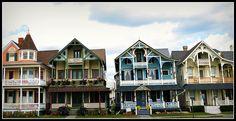 Looks like Ocean Grove, NJ victorian houses