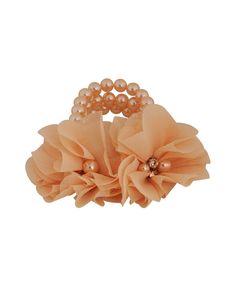 Pearlescent Corsage Bracelet