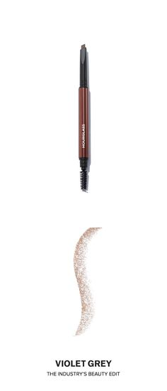 @hourglassmakeup's Arch Brow Sculpting Pencil has an advanced formula that combines powder and wax in a mechanical pencil to create naturally defined brows. The pencil has an angular tip to allow for easy application.   #VioletGrey, the Industry's Beauty Edit