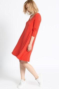 Medicine - Sukienka Belleville kolor czerwony RW16-SUD110 - oficjalny sklep MEDICINE online