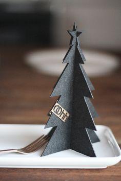 Les jolies choses de Noël #1 / Petits sapins /