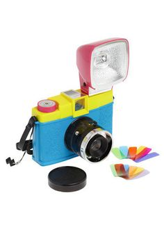 i.want.this. Diana F+ Clone Camera in CMYK