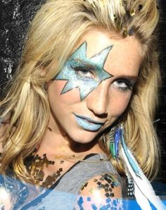 kesha eye make-up for Karen