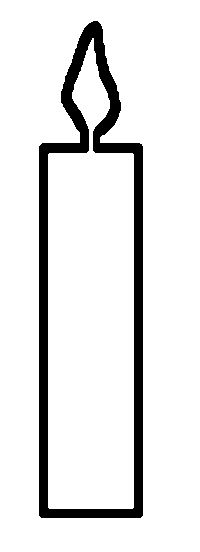 religious candle template printable - Google Search ...