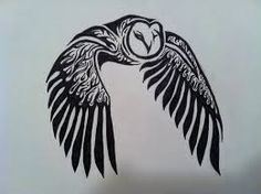 tribal tattoos owl - Google Search