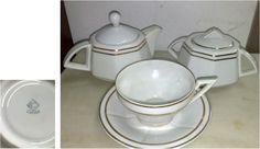 Electro Cerâmica do Candal Sugar Bowl, Bowl Set, Portugal, Art Deco, Tableware, Electrum, Dinnerware, Dishes, Place Settings