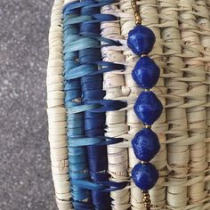 Our Indigo Quin from Uganda. Available in our online shop! #marketcolors