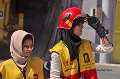 Badass Iranian firefighters