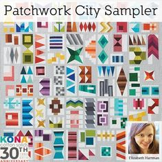 Patchwork city sampler