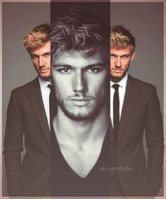 Mr. Grey of the day! Alex Pettyfer as Christian Grey.