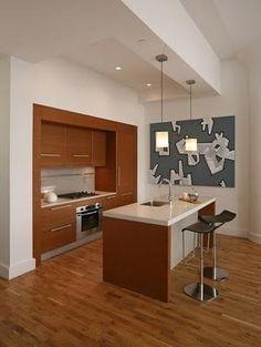 Las cocinas modernas abiertas - Paperblog