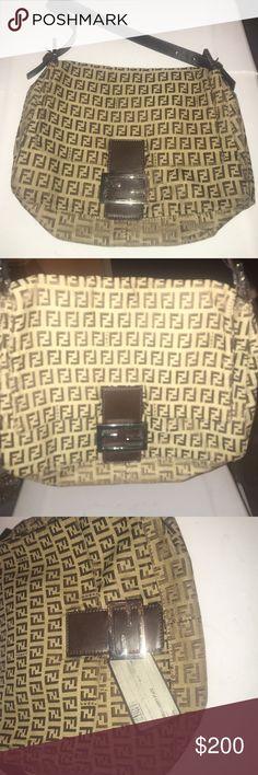 Fendi bag Brown fendi shoulder bag with adjustable strap. Mint condition hardly worn. No damage to the bag Fendi Bags Shoulder Bags