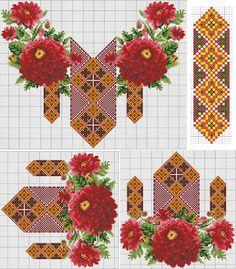 ЕТНОВІЗЕРУНКИ: творча майстерня – СХЕМИ: квіти, рослини, мотиви для дівчат – Спільнота – Google+