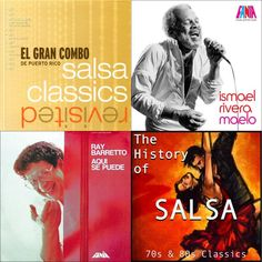 A playlist featuring El Gran Combo De Puerto Rico, Ismael Rivera, Ray Barretto, and others