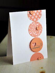 Handmade card #cadeaux