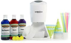 Amazon.com: Hawaiian Shaved Ice and Snow Cone Machine Party Package: Kitchen & Dining