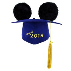 Mickey Mouse Ear Hat Graduation Cap for Adults - 2018 666c8f1efe7c