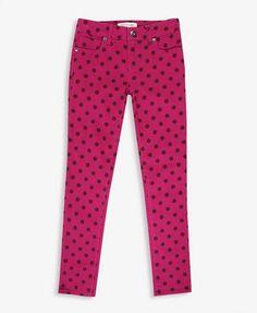 Polka Dot Skinny Jeans | FOREVER21 girls - 2027704900