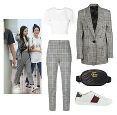 """""""GG BeBe #5"""" by lk-fashion ❤ liked on Polyvore featuring T By Alexander Wang, Alexander Wang and Gucci"""