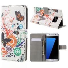Housse Samsung Galaxy S7 edge Retro Butterfly