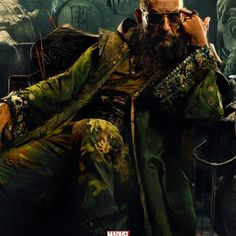 Mandarin #IronMan3 #Marvel #Comics