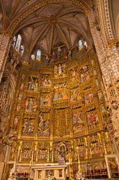 Altar de la Catedral de Santa María de Toledo