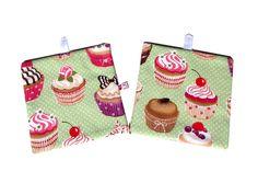 """Topflappen - Topflappen """"Cupcakes"""" - ein Designerstück von primatoma bei DaWanda"""
