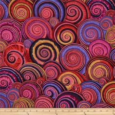 Designed by Philip Jacobs for Westminster, this cotton print fabric is perfect for quilting, apparel and home decor accents. Colors include black, shades of brown, shades of red, shades of orange, shades of pink, and shades of purple.