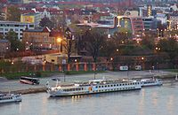 The Elbe in Magdeburg Saxony Anhalt, New York Skyline, England, River, City, Magdeburg, England Uk, Rivers, English