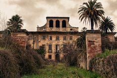 Villa Sbertoli - Abandoned Psychiatric Hospital (Pistoia Italy). Villa Sbertoli was built in the early 1800s by wealthy merchant Agostino Sbertoli. It was inaugurated as a psychiatric hospital in 1868.