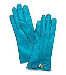 My fave designer and fave color...too bad I'm over winter, til next year beautiful teal gloves!