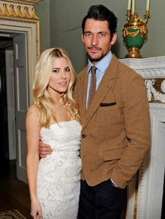 David Gandy and Mollie King   the @BFC #CreativeLondon Party    23/02/15