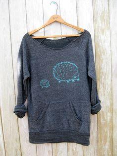 me and mama Hedgehog Sweatshirt, Hedgehog Sweater, Gift for Mom, S,M,L,XL. $36.00, via Etsy.