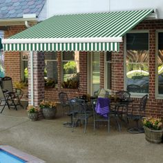 Maui Model - #awning #patio #summer #summertime #bbq #outside #pool