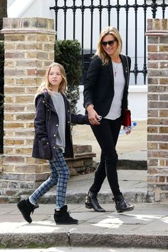 Such stylish mom and daughter.Love that suit.
