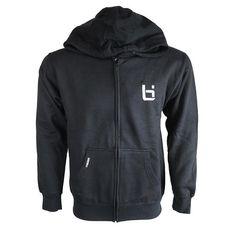 The Logo Zip Jacket Black