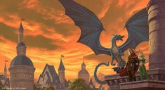 -Dragons of Summer Flame - © Wizards of the Coast