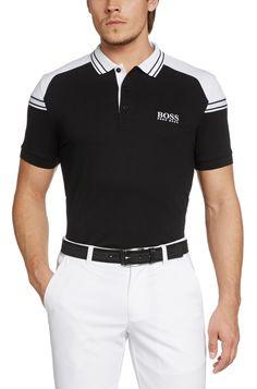 BOSS Green Polo de golf Regular Fit Paddy Pro 1 doté de la technologie Moisture Manager Noir prix Polo homme Hugo Boss 150.00 € TTC