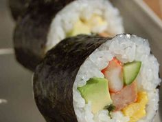 巻き寿司♪アボカド&スパムの画像