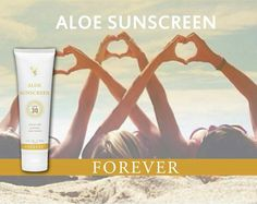 Your skin deserves the best! Aloe infused sunscreen lotion! For our full range of summer skincare products go to www.aloeberdeen.myforever.biz/store